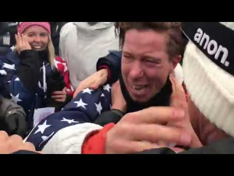 SHAUN WHITE THREE-TIMES OLYMPIC CHAMPION AND 100TH GOLD MEDAL FOR TEAM USA