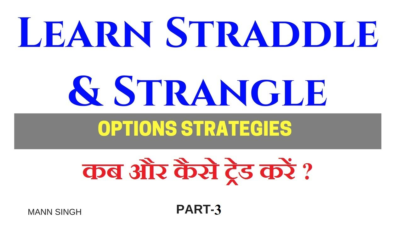 How to Trade Straddle and Strangle- Options Trading- Part 3