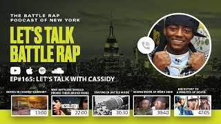 #165 Lets Talk With Cassidy