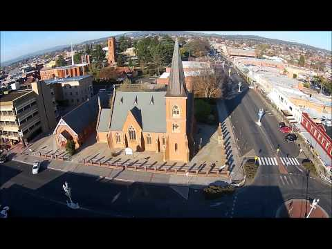 Bathurst NSW morning flight by Sky Eye UAV Solutions