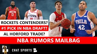 Nba rumors mailbag covers a lot of topics including the idea an al horford trade. trade have been swirling for months as his fit next to jo...