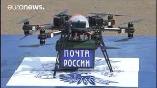 Дрон Почты России прошёл тест Тьюринга