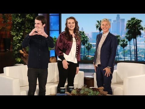 '13 Reasons Why' Stars Katherine Langford and Dylan Minnette's ...
