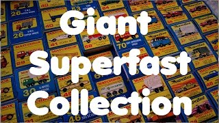 Giant Matchbox Superfast Collection - Video No.134 - July 27th, 2016