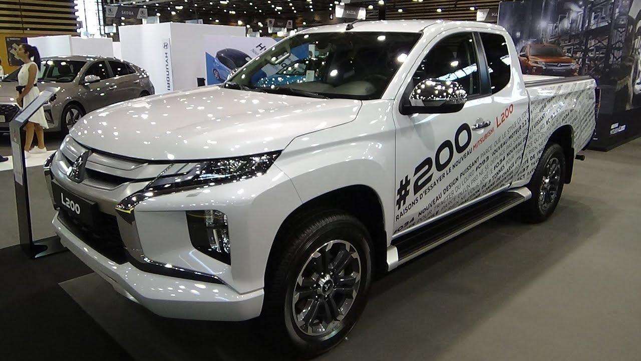 2020 Mitsubishi L200 Club Cab 2 0 Di D 150 4wd Instyle Ext Int Salon Automobile Lyon 2019