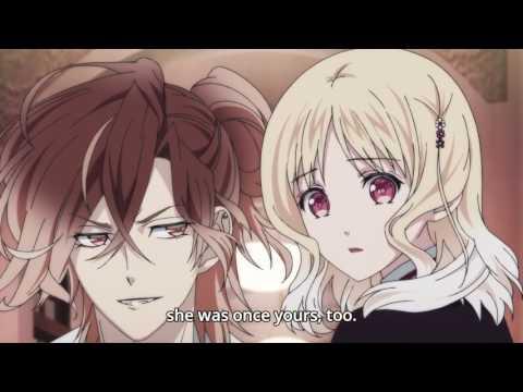 Diabolik Lovers || Yuma, Shu and Yui Scene || English Sub