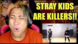 (YG VS JYP) STRAY KIDS - AS IF IT'S YOUR LAST AND MATRYOSHKA REACTION VIDEO
