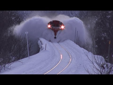 awesome powerful snow