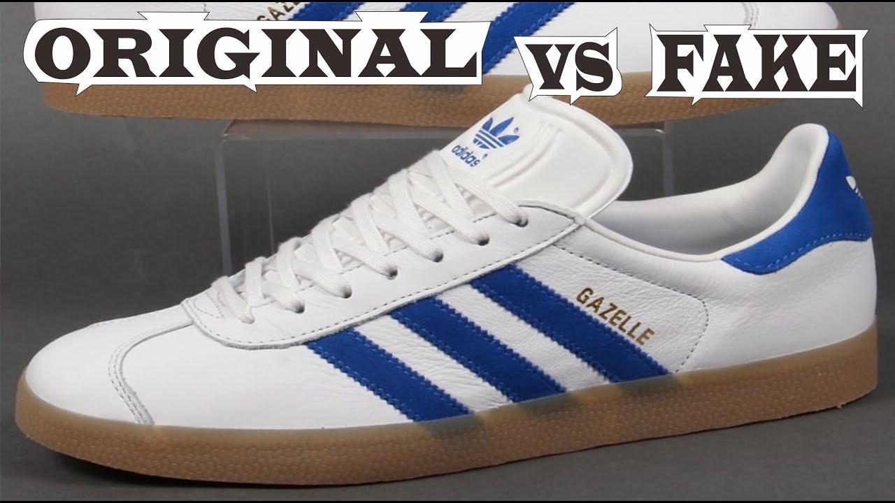 houkutteleva hinta uk saatavuus uusi kokoelma Adidas Gazelle Vintage White Blue Original & Fake