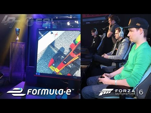 FORZA 6 FORMULA E ESPORT RACE OFF - ALLE RENNEN
