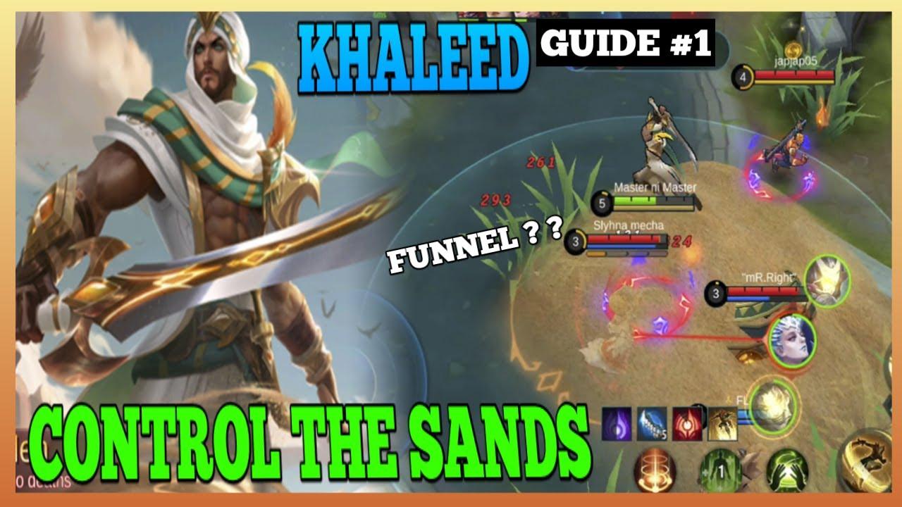 Khaleed Guide 1 | How to Use Khaleed Properly | Master the Basics | Khaleed Gameplay | MLBB