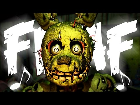 NateWantsToBattle: Salvaged [FNaF LYRIC VIDEO] FNaF Song