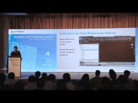 Autodesk 2017 Solutions Update –Civil Infrastructure Industry