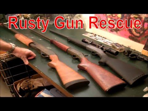 Rusty Gun Rescue Youtube
