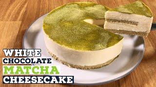 White Chocolate Matcha Cheesecake Recipe  Just Cook!