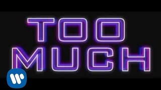 Que.   Too Much Ft. Trey Songz & Lizzle [lyric Video]