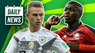 So spielt Deutschland vs. Serbien! Hoffenheims neuer Trainer! FC Bayern: 80 Millionen für Pépé!