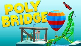 Building Bridges That Should Be Illegal in Poly Bridge