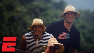 Boban Marjanović searches for dinosaurs with Tobias Harris in Hawai