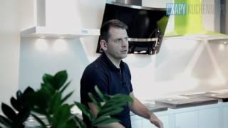 Rodzaje okapów kuchennych: okapy przyścienne kominowe - prezentacja OkapyKuchenne.pl