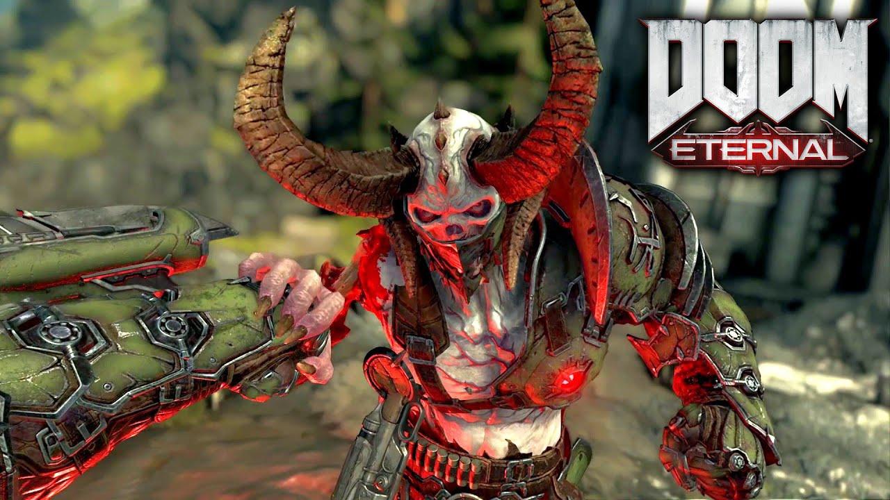 Doom Eternal All Glory Kills On Marauder Including Crucible And Berserk Youtube