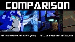 Transformers G1 Optimus Prime VS. Megatron (Remake Comparison)