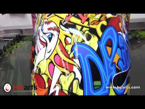 HG Arts | Water Transfer Printing - Hydrographics | (HGA-DY565 | Fender)