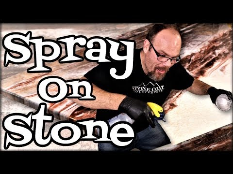 Spray on Stone Epoxy
