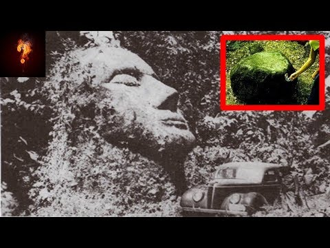 nouvel ordre mondial |   Giant Caucasian Head & Magnetic Statues Found In Guatemala?