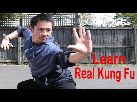 Shaolin Kung Fu Wushu Basic Training For Beginners - Session 1