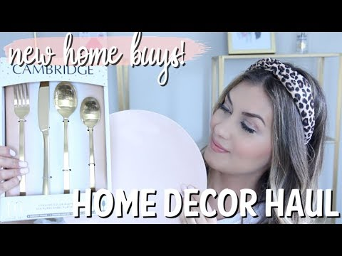 home-decor-haul-|-new-purchases-for-the-new-house!-homegoods,-target,-world-market