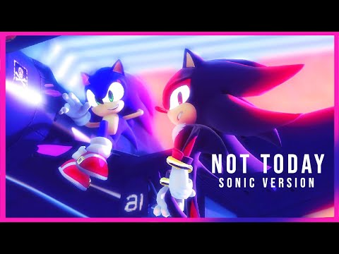 【Sonic MMD】BTS「NOT TODAY 👊」| Sonic Version (feat. Shadow, Silver & more) |【full music video】