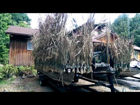 Boat Blind Build Doovi