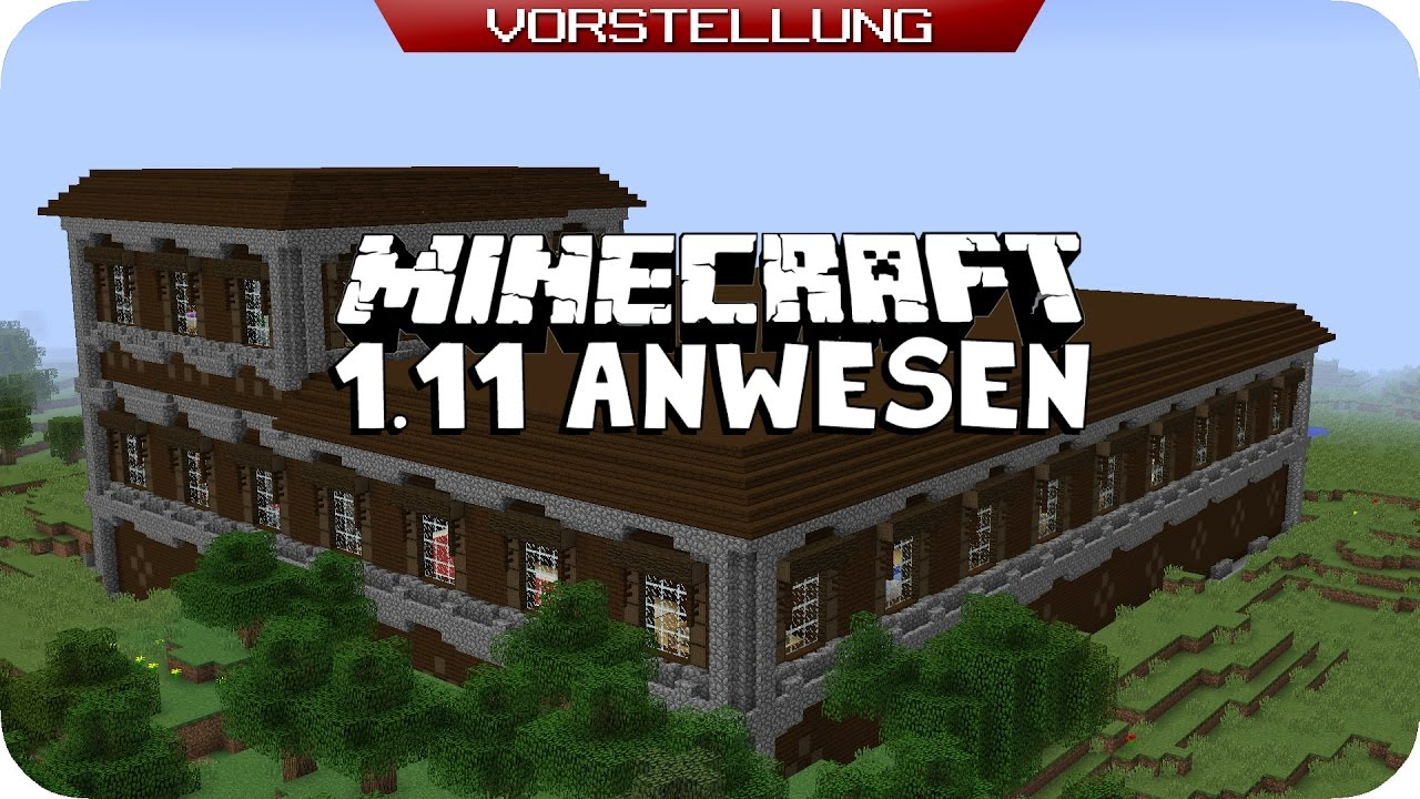 Waldanwesen verbessert minecraft de youtube for Minecraft modernes haus download 1 7 2