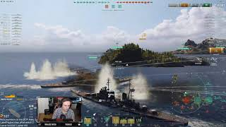 World of Warships - Alexander Nevsky - fighting an entire side on my own