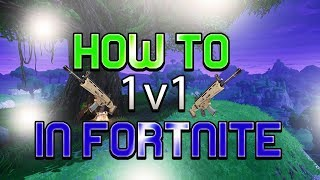 FORTNITE SOLO WITH FRIENDS GLITCH!!! - Fortnite 1v1 Glitch - How To 1v1 in Fortnite Solo Team Up
