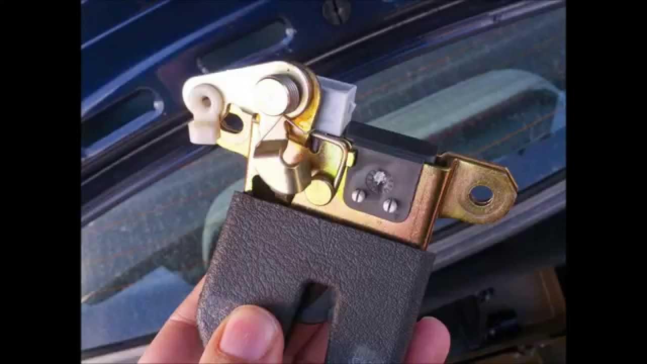 Reparación Cerradura Maletero de un Wolkswagen Passat ...