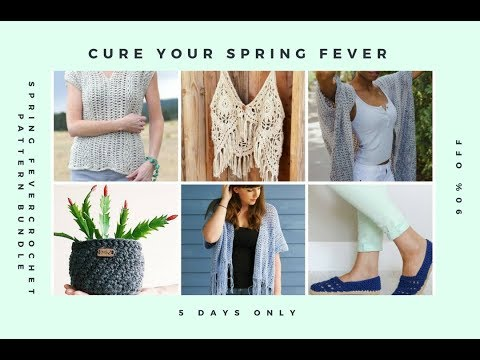 Spring Fever Pattern Bundle Reveal 90 Off And A Free Pattern With