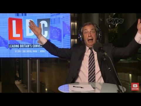 The Nigel Farage Show: Brexit negotiations Le Pen/May. Live LBC. 14th March 2017