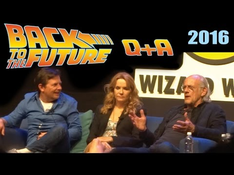 Back to the Future Reunion Q&A  Philadelphia, PA 642016