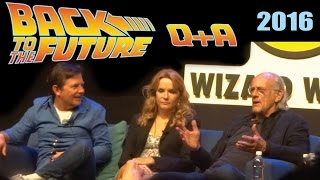 Back to the Future Reunion Q&A | Philadelphia, PA 6-4-2016