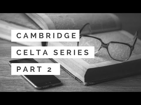 CELTA Series Part 2 - Application & Phone Interview