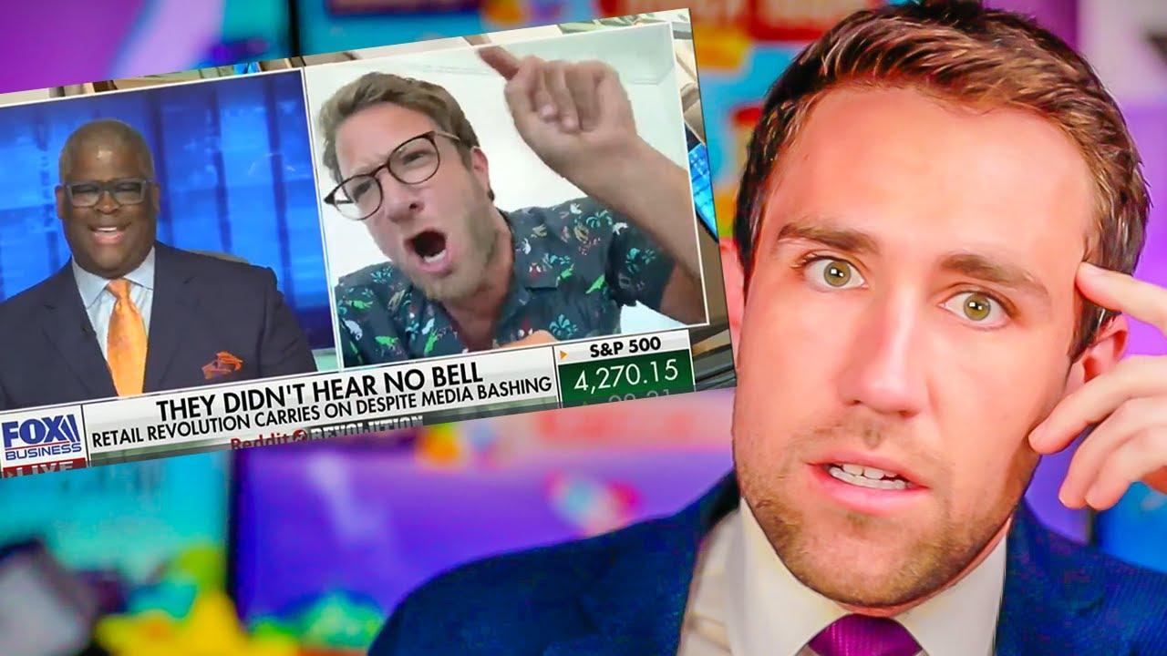 Fox JUST Destroyed Paperhander Portnoy! $AMC $GME !!!!
