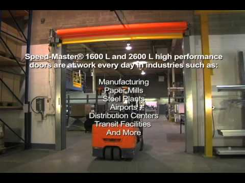 Hormann Flexon Speed-Master 1600 L and 2600 L & Hormann Flexon Speed-Master 1600 L and 2600 L - YouTube