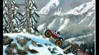 Monster truck nitro 2 alkukentät