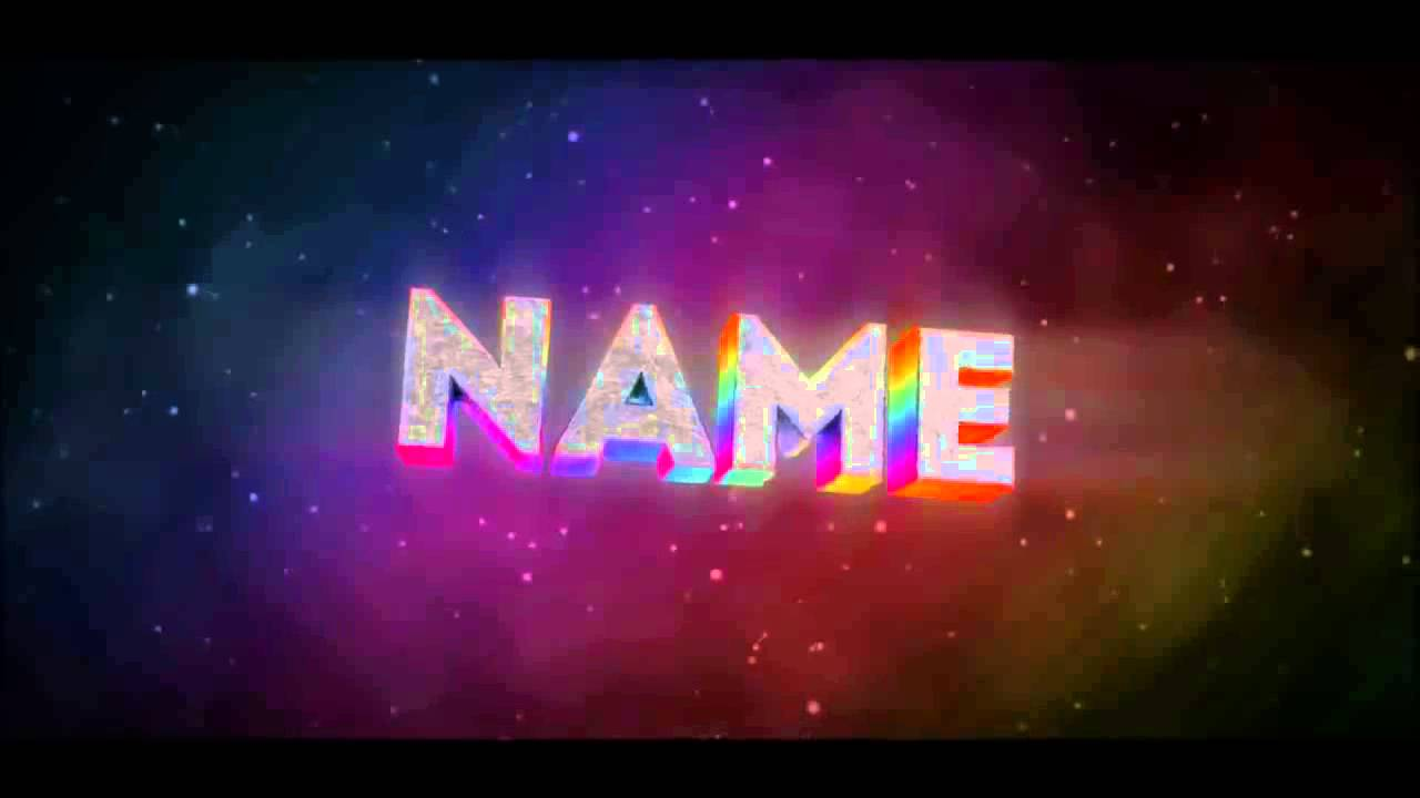 free epic rainbow intro template   blender  u0026 after effect