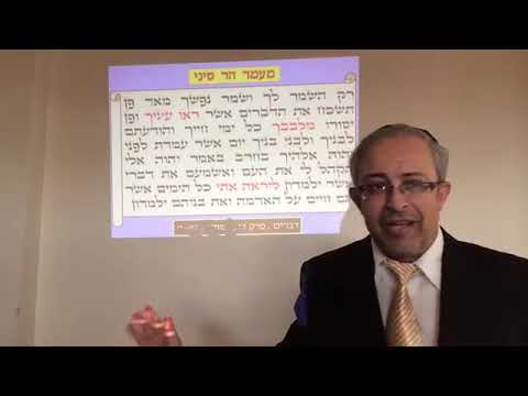 Rabbi Yinon Kalazan -  What Actually Happened at Mount Sinai ? Most ingenious must watch!!!