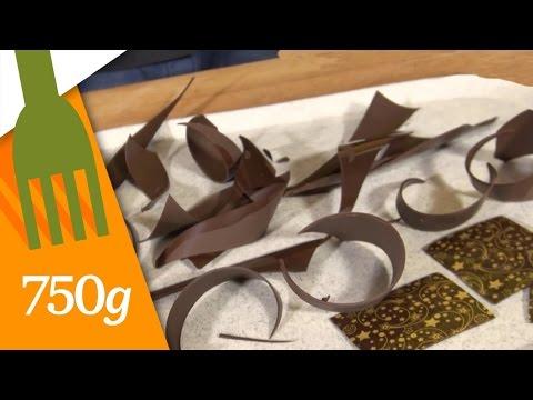 Comment Faire Des Décors En Chocolat ? 750 Grammes