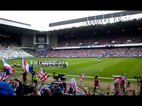 Penny Arcade before Rangers vs Celtic April2011