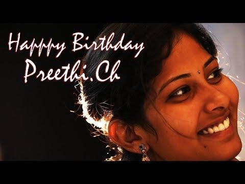 evaree-ammayani-adiga-video-song-||-preethi-birthday-spl-||-by-team